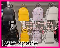 kate spade new york Flower Patterns Casual Style 2WAY Plain Backpacks