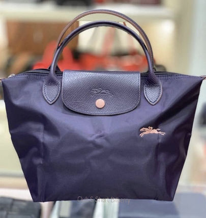 Nylon Plain Handbags