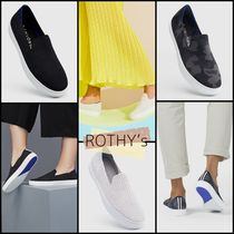 ROTHY'S Camouflage Round Toe Casual Style Plain Office Style