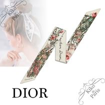 Christian Dior Casual Style Silk Party Style Office Style Elegant Style