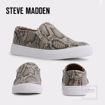 Steve Madden Platform Round Toe Rubber Sole Casual Style