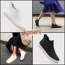 ROTHY'S Round Toe Casual Style Plain Office Style Slip-On Shoes