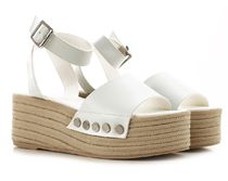 Kendall + Kylie Leather Heeled Sandals