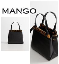 MANGO Leopard Patterns Casual Style Party Style Office Style