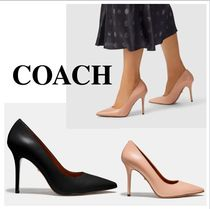 Coach Plain Pin Heels Party Style Office Style Elegant Style