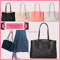 kate spade new york MARGAUX 2WAY Plain Leather Totes