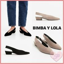 bimba & lola Casual Style Suede Leather Sandals Sandal