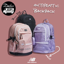 New Balance Casual Style Unisex Nylon A4 Backpacks
