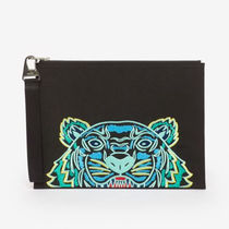 KENZO Street Style Clutches
