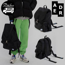 ADERERROR Casual Style Unisex Street Style A4 Backpacks