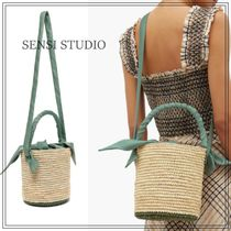 SENSI STUDIO Casual Style Shoulder Bags