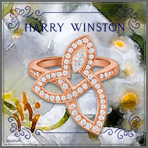 Harry Winston Casual Style Flower Tiaras Office Style Formal Style  Rings