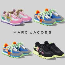 MARC JACOBS Casual Style Suede Blended Fabrics Low-Top Sneakers