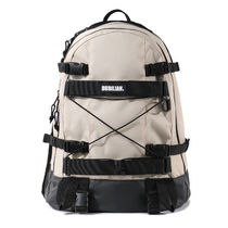 bubilian Unisex Street Style Bag in Bag Plain Logo Backpacks