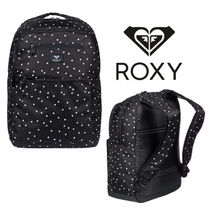 ROXY Dots Casual Style Faux Fur Backpacks