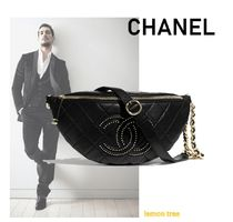 CHANEL Studded Messenger & Shoulder Bags