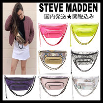 Steve Madden Dots Casual Style 3WAY Chain Plain Python Crossbody