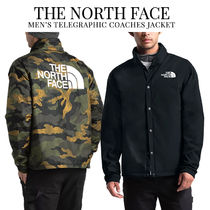 THE NORTH FACE Short Unisex Street Style Plain Coach Jackets Coach Jackets