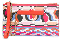 Emilio Pucci Casual Style Chain Party Style Elegant Style Logo Clutches