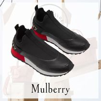 Mulberry Casual Style Low-Top Sneakers