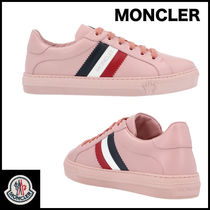 MONCLER Street Style Plain Low-Top Sneakers