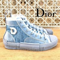Christian Dior Unisex Blended Fabrics Street Style Sneakers