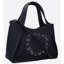 Stella McCartney Denim 2WAY Logo Totes