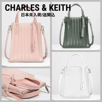 Charles&Keith Faux Fur Party Style Elegant Style Handbags