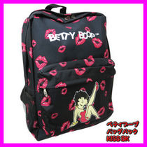 bettyboop Casual Style Unisex Street Style Special Edition Backpacks