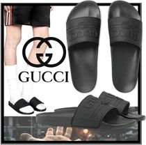 GUCCI Street Style Sandals