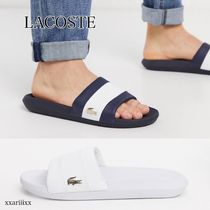 LACOSTE Street Style Bi-color Plain Sport Sandals Sports Sandals