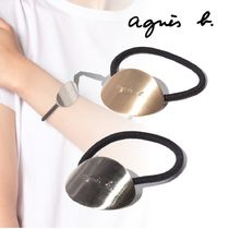 Agnes b Bangles Casual Style Unisex Hair Accessories