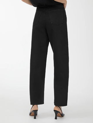 Denim Plain Slouch Pants Jeans