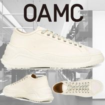 OAMC Plain Leather Sneakers