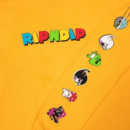 RIPNDIP Long Sleeve Street Style Long Sleeves Long Sleeve T-shirt Logo 3