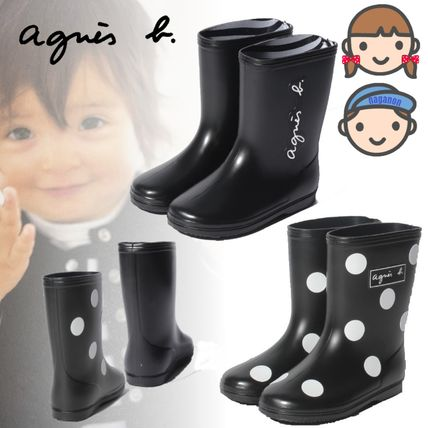 Agnes b Unisex Kids Girl Rain Shoes