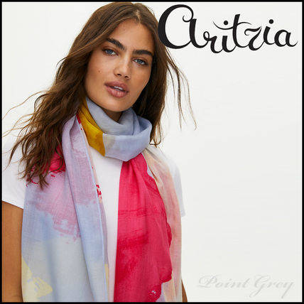[Aritzia / Auxiliary] Abstract Wool Scarf