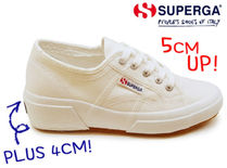 SUPERGA Casual Style Street Style Plain Logo Low-Top Sneakers