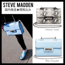 Steve Madden Casual Style Chain Other Animal Patterns Party Style Python