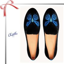 Chatelles Suede Elegant Style Flats