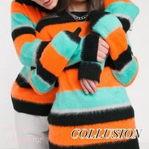 collusion Unisex Long Sleeves Sweaters