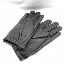 ARMANI JEANS Leather Leather & Faux Leather Gloves