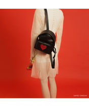 SAMO ONDOH Unisex Plain Backpacks