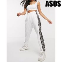 ASOS Casual Style Sweat Street Style Other Animal Patterns Cotton
