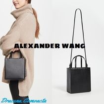Alexander Wang Casual Style 2WAY Plain Leather Party Style Office Style
