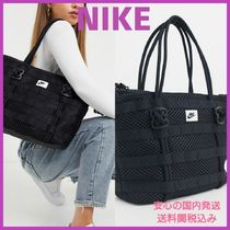 Nike Casual Style Street Style Plain Totes