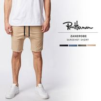 Ron Herman Camouflage Plain Cotton Shorts