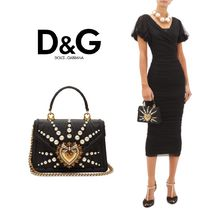 Dolce & Gabbana Elegant Style Formal Style  Logo Party Bags