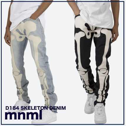 MNML More Jeans Denim Street Style Cotton Jeans