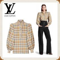Louis Vuitton Casual Style Long Sleeves Cotton Medium Elegant Style